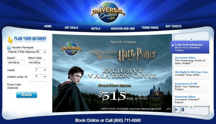 Universal Orlando vacation packages - insider tips, tricks & secrets