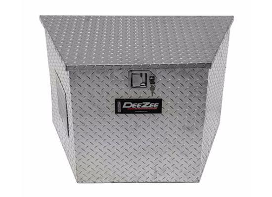DeeZee Aluminum Trailer Tongue Box (7.24 Cu. Ft.)