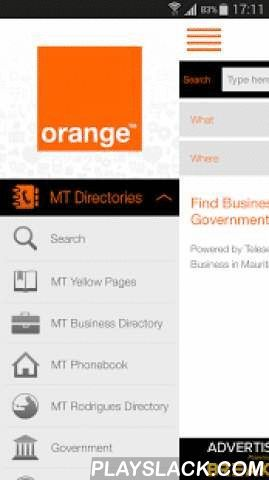 OrangeCare  Android App - playslack.com ,  Orange Care is brought to you by Mauritius Telecom under their brand Orange. The Directory Service is provided by Teleservices Ltd. The application is developed by Mobi Move Ltd.Teleservices Ltd is a wholly owned subsidiary of Mauritius Telecom Group and the Leader in the Directory Business in Mauritius.Its vision is 'to be a world-class reference in value adding information to connect people'. In that context, Teleservices Ltd produces and supplies…