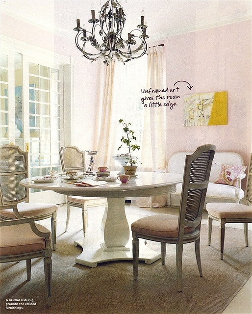 25+ Best Ideas About Pink Dining Rooms On Pinterest