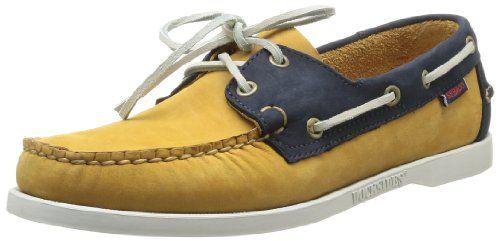 Sebago Spinnaker, Chaussures bateau homme - Marron (Golden Tan/Navy), 41 EU (7 UK) (7.5 US) Sebago http://www.amazon.fr/dp/B00FPW3L1I/ref=cm_sw_r_pi_dp_UuW3vb06YNSC6