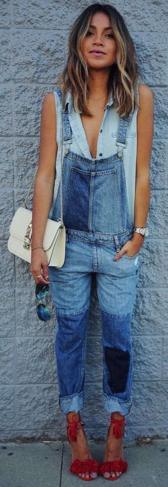 Paige Denim Outfit Idea by Sincerely Jules cute outfits for girls 2017