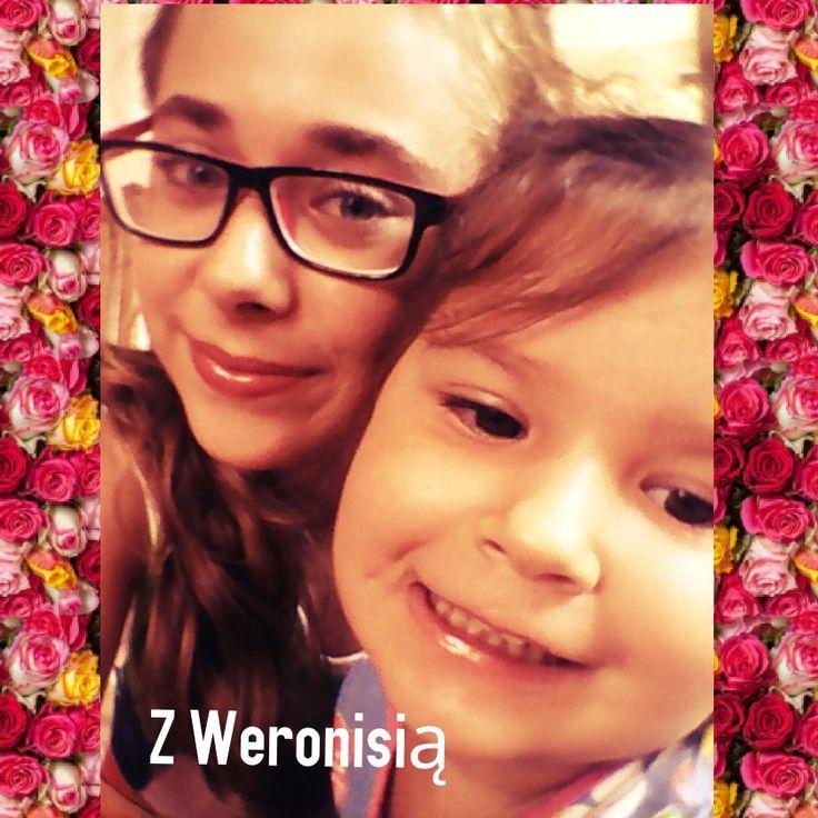 Mała fotka z Weronisią ;*