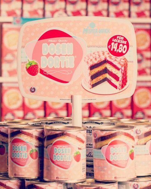 Mister Quicks 'Dosen Dortie' #art #popart #supermarket #vintage #60s #cornflakes #toast #cake #handmade