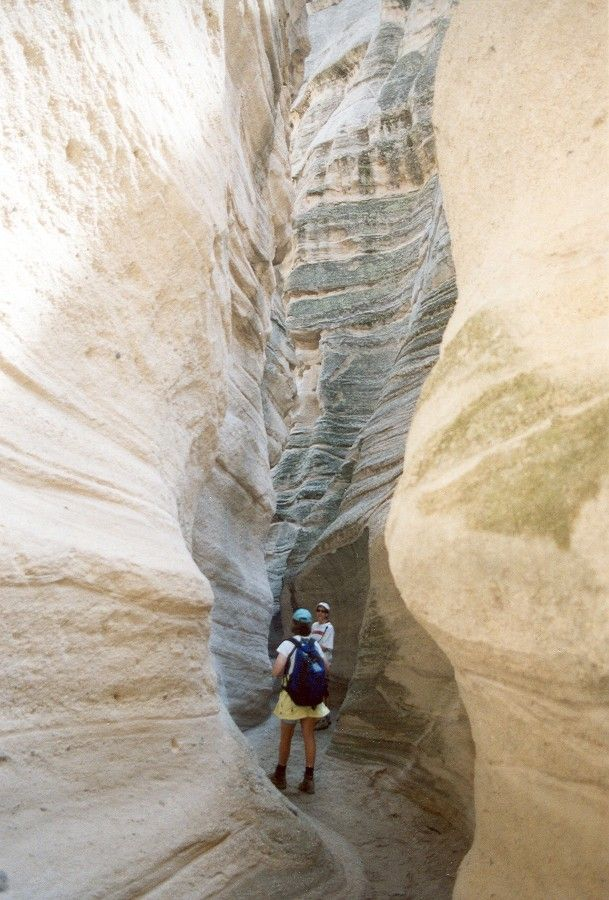The hike through the tent rocks and canyon is relatively short. Only a few miles, and taking only a few hours to ramble through (with your jaw dropping at what you will see). Be sure to bring your camera…