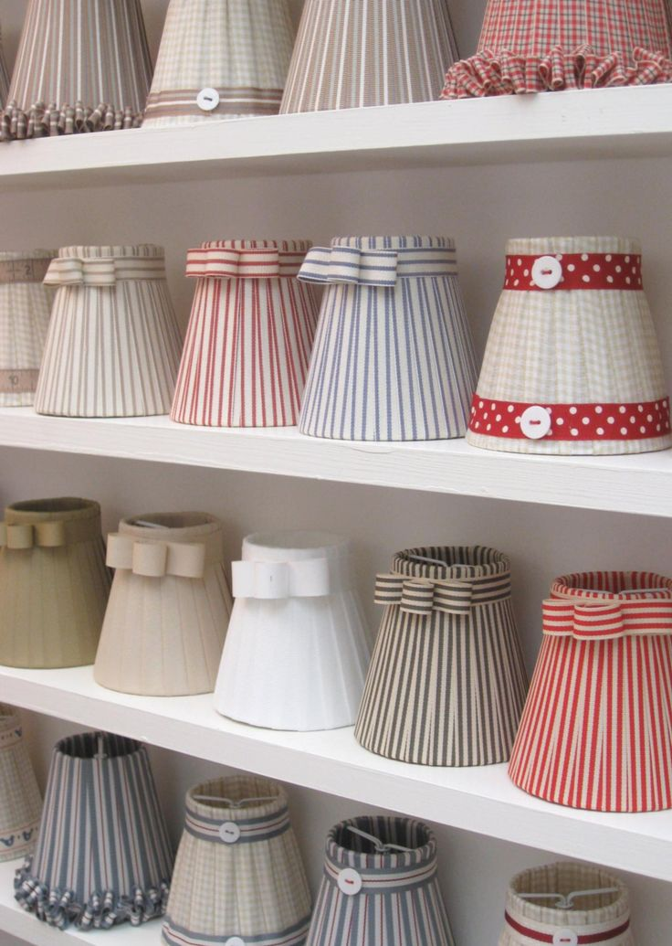 Beautiful little lampshades