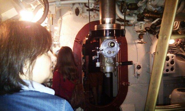 Interior de un Submarino sovietico