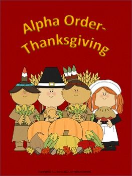 This 14-page package is based on the Thanksgiving theme. As they are introduced to words associated with this celebration, the children will become familiar with recognizing the words and will practice putting them in alphabetical order.The worksheets will help to strengthen their alphabetizing skills. This package does not cover alphabetical order by the 2nd or 3rd letter and so on, but it can aid in improving the skill of quick recall of the basic ABC order.
