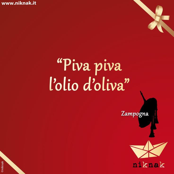 Citazioni di Natale: zampogna. Christmas quotes | Christmas graphic | Funny quotes