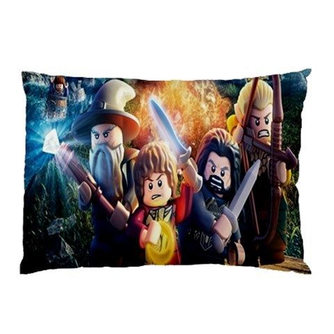 Gift Pillow case Lego the Hobbit 2 sides best gift for husband, best gift for wife, best gift for girlfriend, best gift for grandma, best gift for grandchildren, best gift for sister, best gift for brother, best gift for son, best gift for daughter, best gift for boy, best gift for gift, best gift for mom, best gift for dad