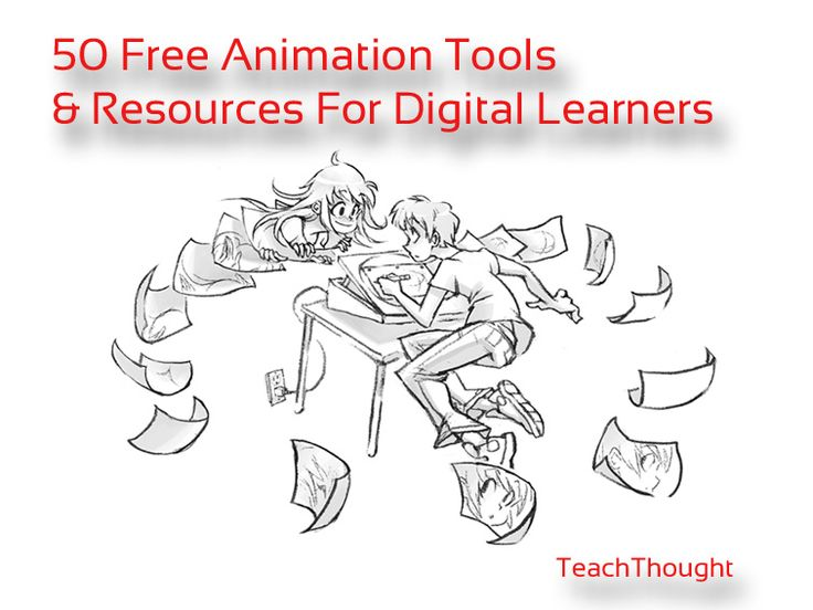 50 Animation Tools And Resources For Digital Learners via @Terry Song Heick