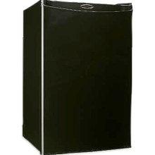 Beverage Station, generally just a black mini fridge