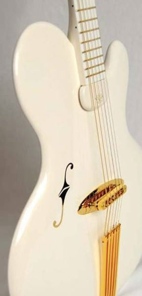 Thinnest guitar in a class of it's own – by luthier Jens Ritter