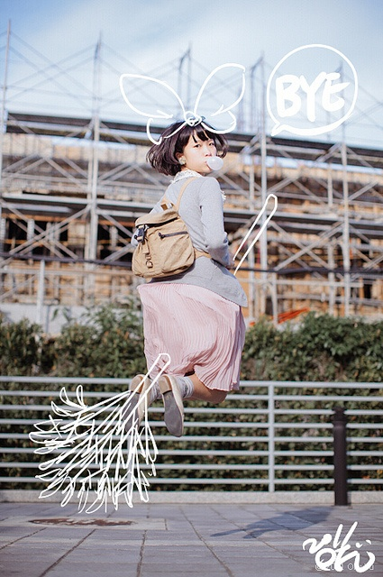 漂浮少女 in Taipei by OFU, via Flickr
