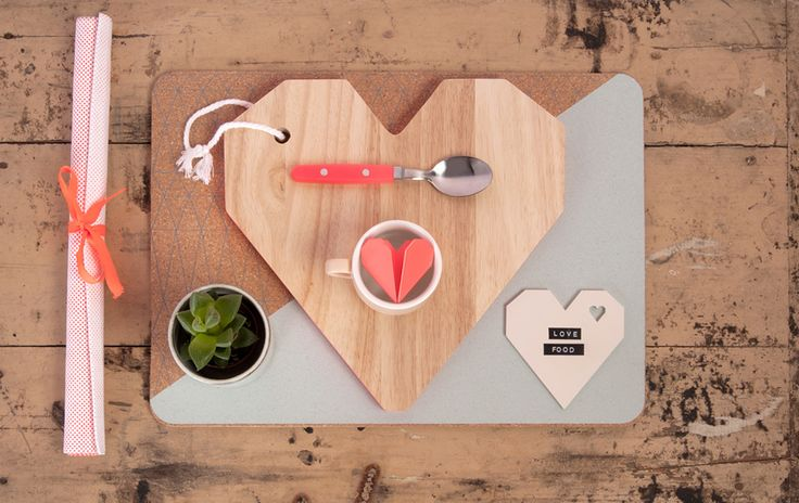 Origami hart snijplankje, nu voor € 14,95