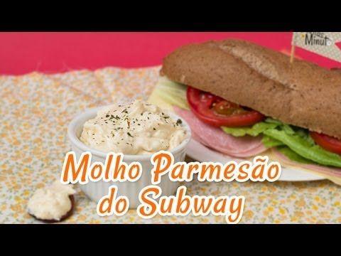 Molho Parmesão do Subway | Receitas de Minuto - A Solução prática para o seu dia-a-dia!