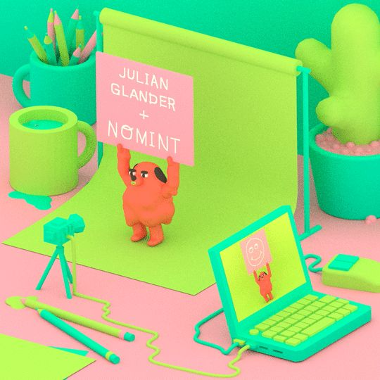 U heard it from the dancing dog himself–NOMINT has added me to their roster of commercial animation directors!