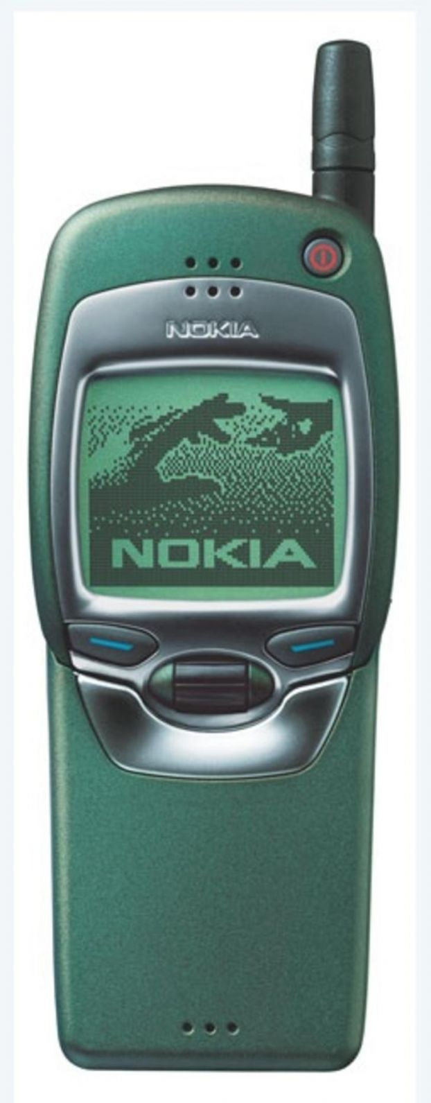 The Nokia 7110, one of the first test subjects of a WAP banking service we created for Nationwide Building Society in the UK in 1998.