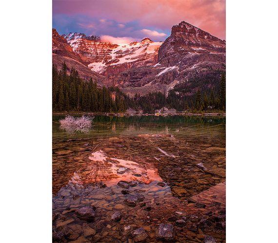 Mountain Photograph - O'Hara Lake