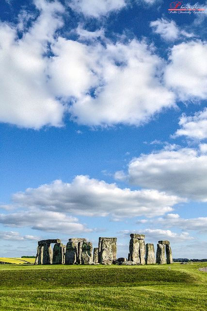Stonehenge, England Originally constructed by the British Pagans who lived on the Island Nation before the Celtic Tribes during their long war with the Roman Empire who eventually took over England and destroyed the Celts and then executed the Druid Priests and Priestesses.