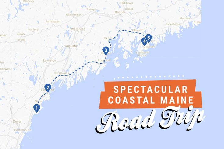 Spectacular Coastal Maine Road Trip
