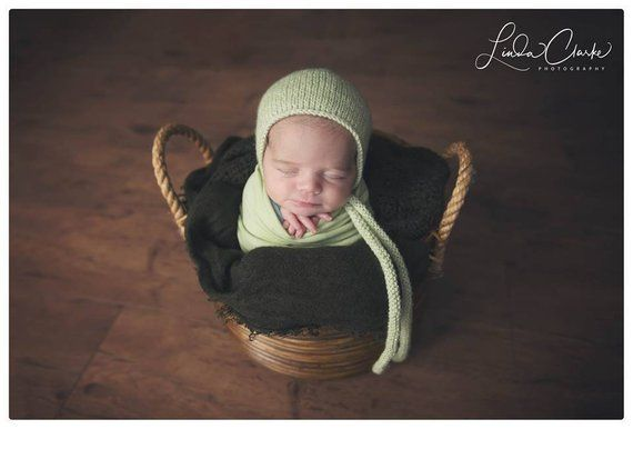 Newborn Wrap and Hat  Sage Wrap and Hat Set  Newborn Knit Wrap  Newborn 6b6e5375f14d