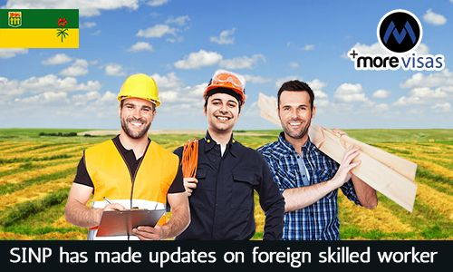 #SINP has Made #Updates on #Foreign #SkilledWorker Categories. Read more...  https://www.morevisas.com/immigration-news-article/sinp-has-made-updates-on-foreign-skilled-worker-categories/4464/