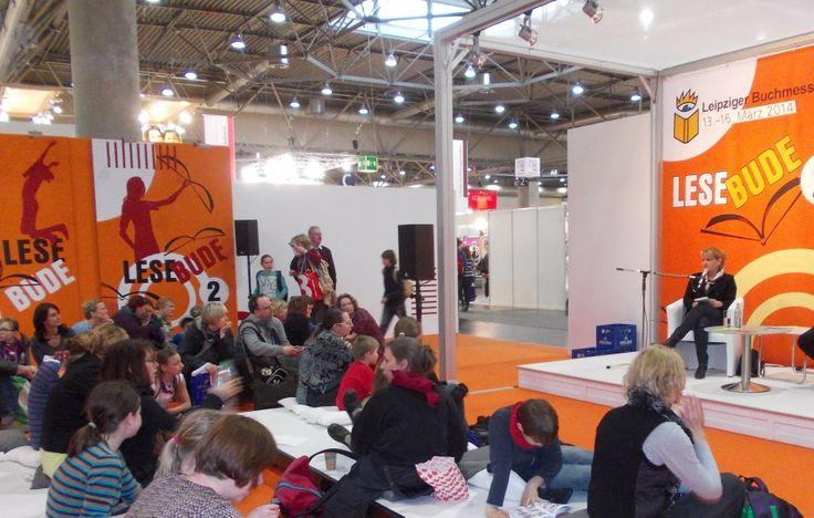 """Meine Lesung aus """"MICHA"""" am 16. März 2014 auf der Leipziger Buchmesse."""