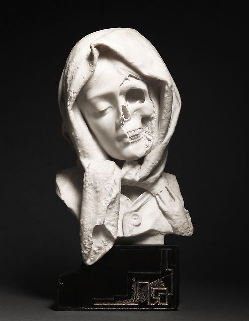 Italian, late 19th century, A Vanitas  I like this because its very straight forward, and to the point. You know exactly whats its trying to portray right away.  MT