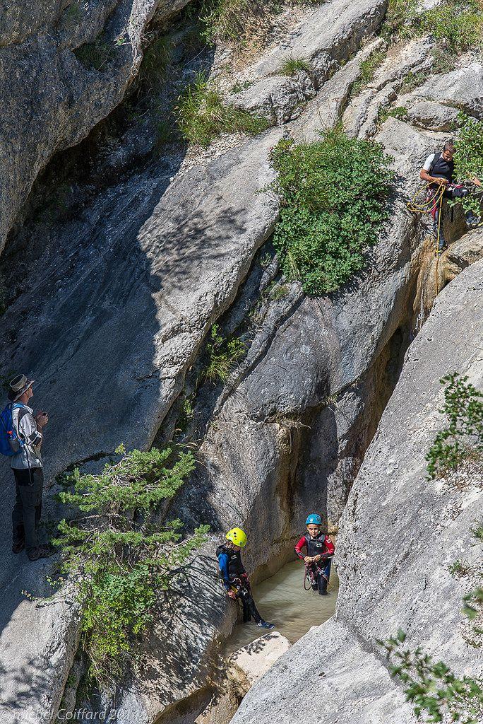 https://flic.kr/p/otwdfU | UN JEU POUR LES ENFANTS, les marmittes du diable, canyoning dans le Haut Buëch