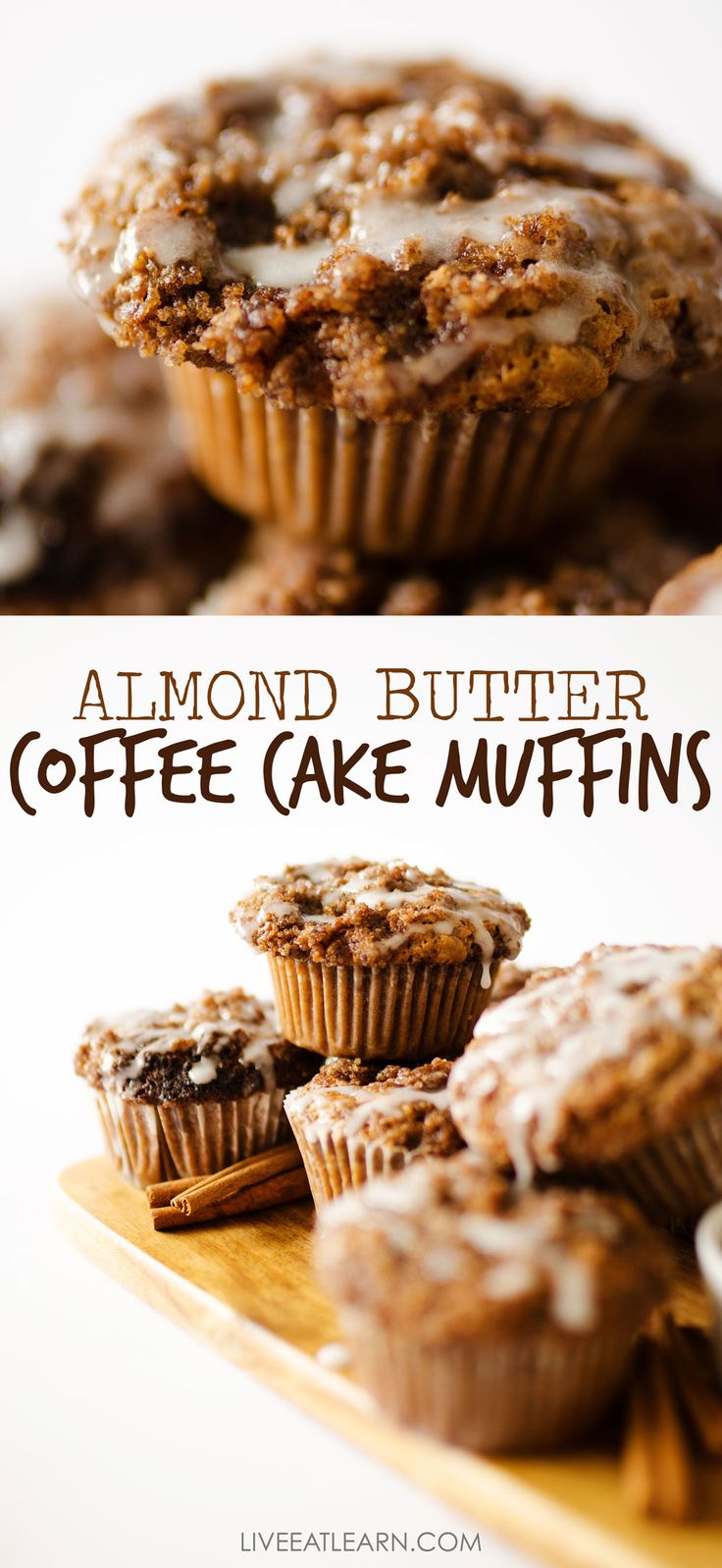 Almond Butter Coffee Cake Muffins – eat: vegetarian recipes
