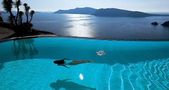 Perivolas Hotel Infinity Pool, Santorini, Greece