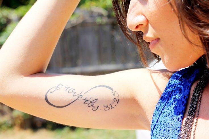 Proverbs 31 tattoo