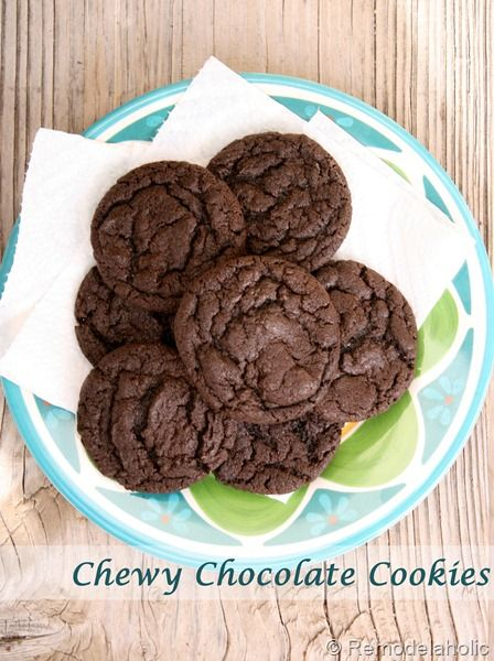 Chewy Chocolate cookies make delicious cookie sandwiches with cream cheese filling. I made this tonight and it was delish!