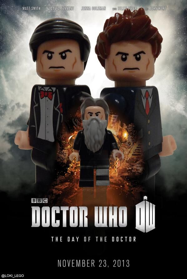 Lego Day of the Doctor.