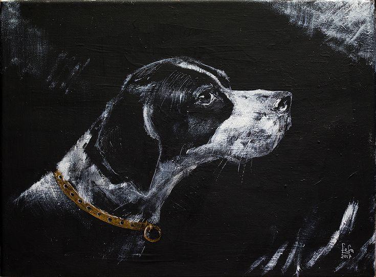 Ознакомьтесь с моим проектом @Behance: «A head of pointer dog» https://www.behance.net/gallery/51045139/A-head-of-pointer-dog