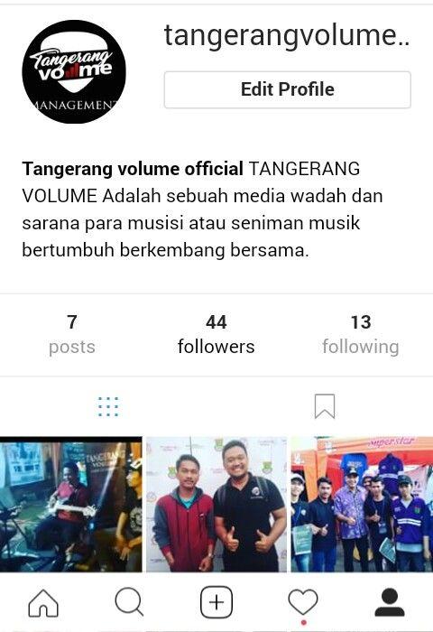Tangerang Volume Hai all Follow instagram Tangerang Volume Media wadah dan sarana.