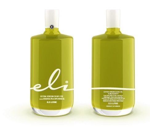 Eli Extra Virgin Olive Oil, bottle.       Superior category Greek olive oil obtained directly from olives and solely by mechanical means.