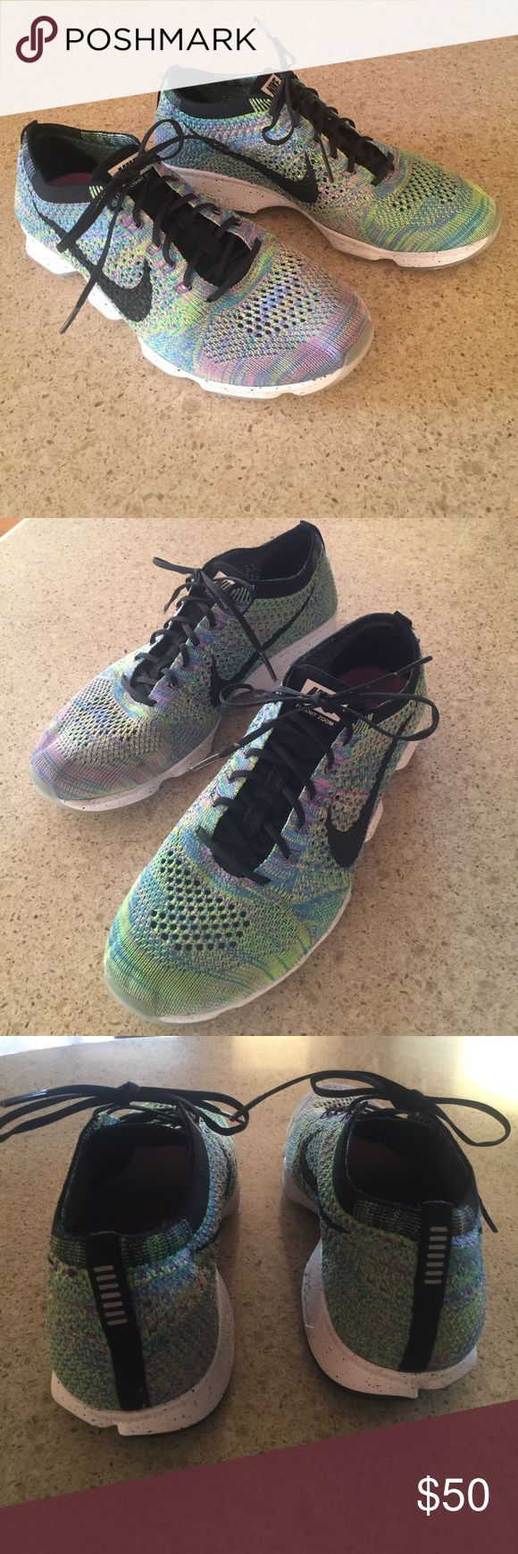 Women's 8.5 Nike Shoes Fly Knit Zoom Agility Womens Nike Shoes Size 8.5. Brand new condition. Worn once. Nike Flyknit Zoom Agility. Nike Shoes Athletic Shoes