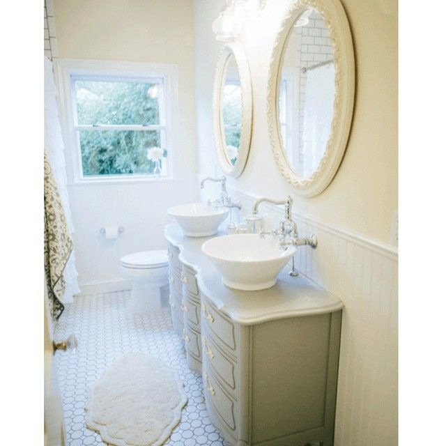 Luxury Farmhouse Style Fixer Upper Bathroom On A Budget  Must Have Mom