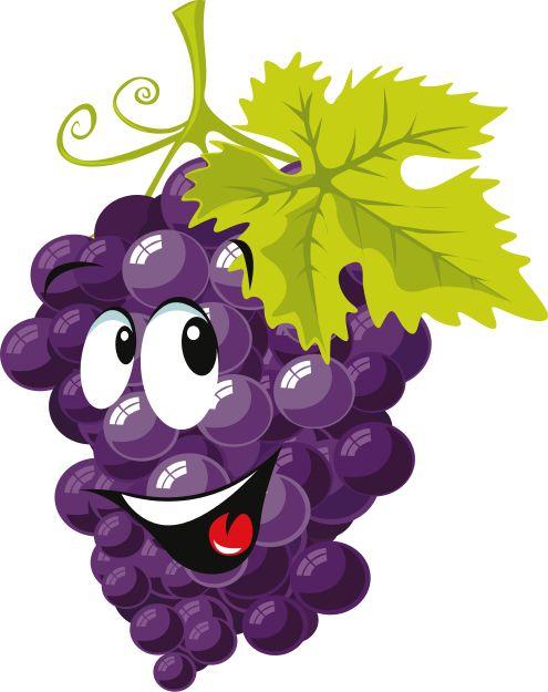 cartoon Grapes