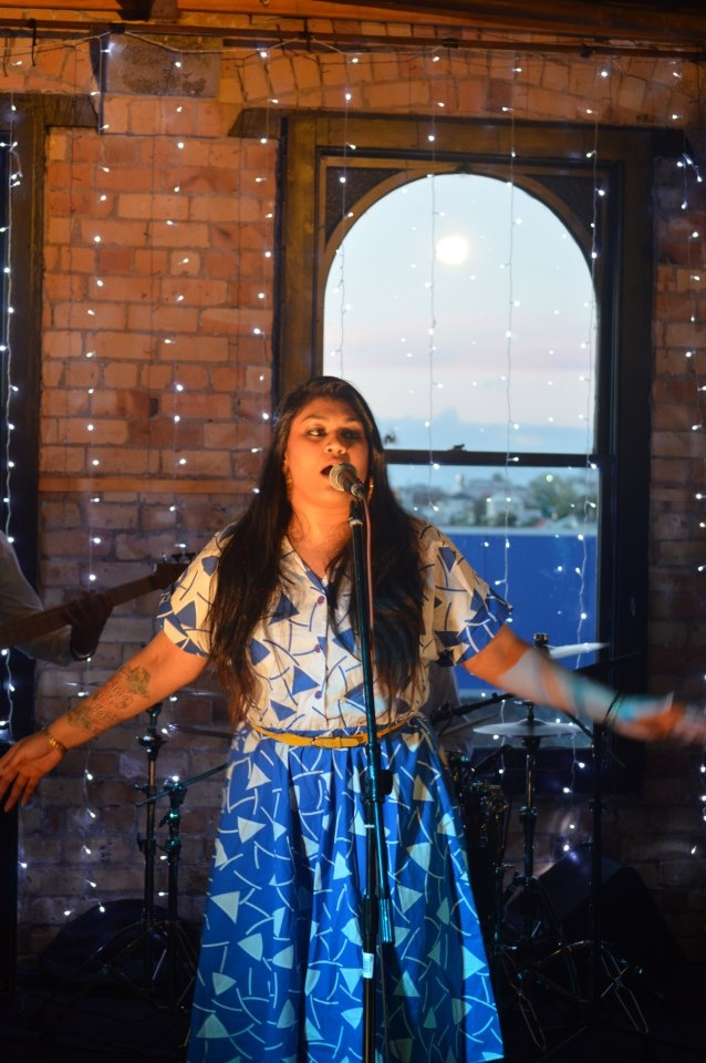 New Album from Aaradhna- Treble and Reverb. Photo taken at her media showcase in Auckland. #aaradhna #samoan #music #newalbum