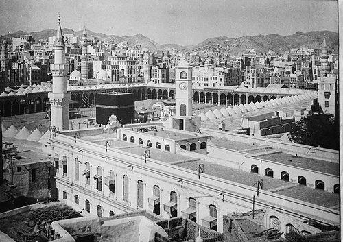 Kaaba 1910 (Mecca, Saudi Arabia)