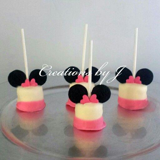 Minnie mouse marshmallow