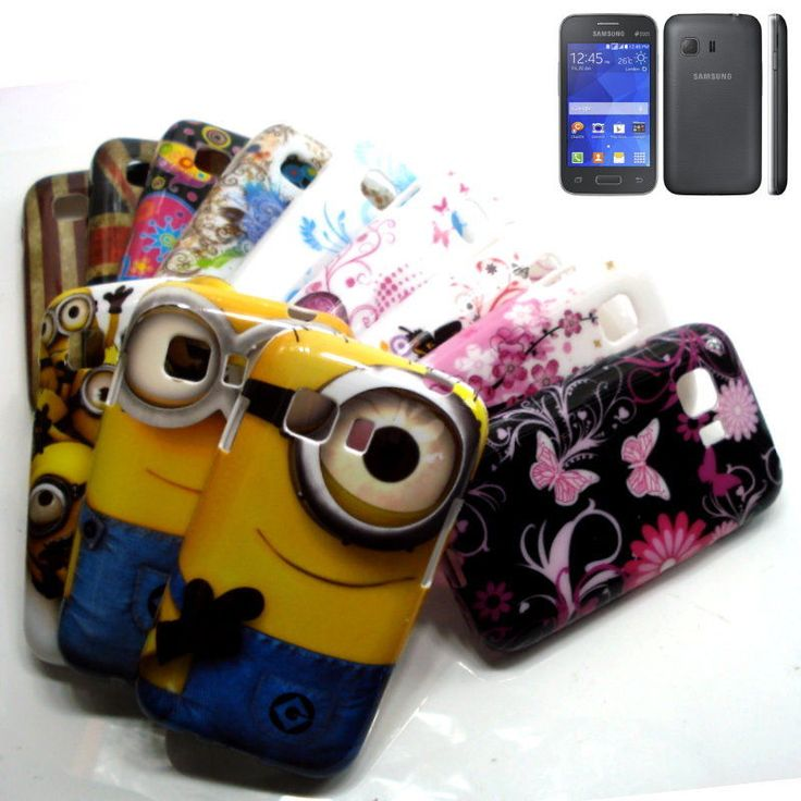 Colorful Print Design Soft TPU Cover Case For Samsung Galaxy Young 2 SM-G130H #UnbrandedGeneric