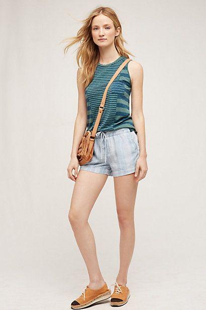 Sun Coast Shorts #anthropologie by Cloth & Stone $39.95 on sale $68 original