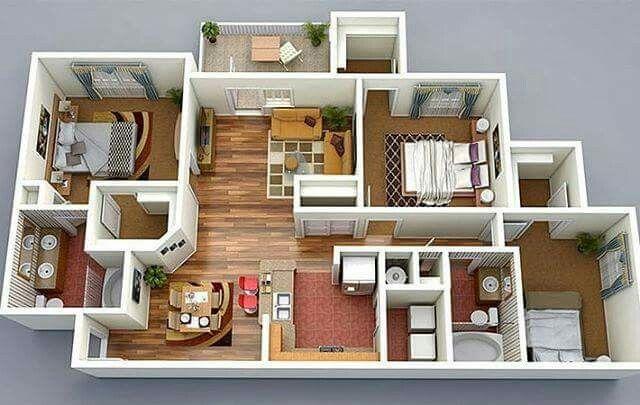Pin Oleh Sadaf Shaheen Di House Plans Desain Rumah Rumah Minimalis Rumah