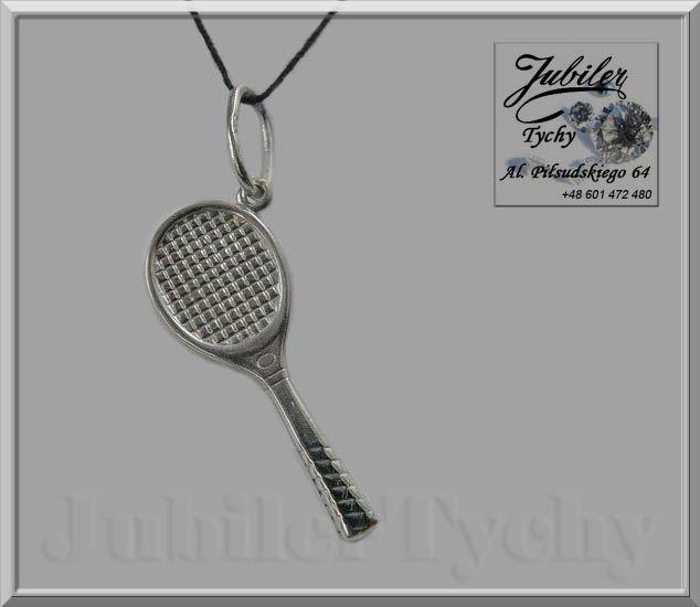 Srebrny wisiorek - rakieta tenisowa  #Srebrny #wisiorek #rakietka do #tenisa #ziemniego #Srebro #Ag925 #jubilertychy #Silver #Jubiler #Tychy #Jeweller #tenisowa #tenis #ziemny #Tyski #Złotnik #Zaprasza #Promocje : ➡ jubilertychy.pl/promocje