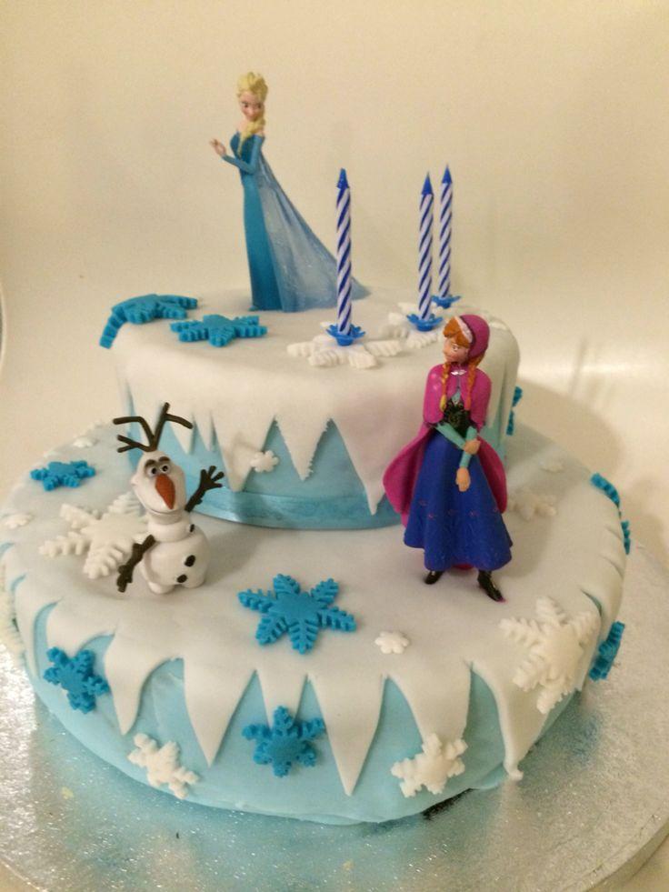 #Motivtorte #cake #Torte #Eiskönigin #frozen #kindergeburtstag #backen