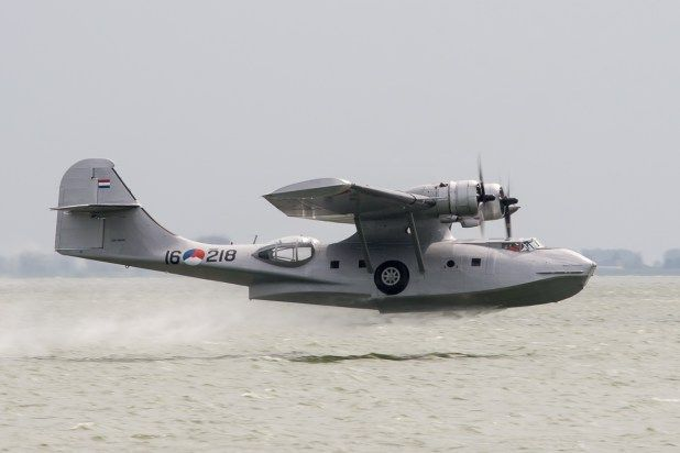 In the Netherlands several organizations and foundations with the objective: keeping in the air flying heritage. One is Operation Catalina Foundation, located on airport Lelystad Airport. The foundation owns PH PBY, a Consolidated PBY-5A Catalina. The aircraft was this year 75 years and is the oldest still flying Catalina world.